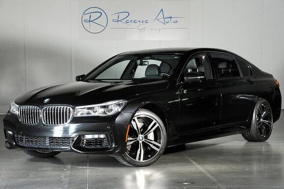 2016_BMW_7 Series_750i xDrive M-Sport Side & Top Cameras Pano Roof_ The Colony TX