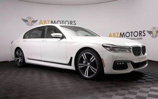2016 BMW 7 Series 750i xDrive M Sport,HUD,Rear DVD,Rear Seat Pkg Houston TX