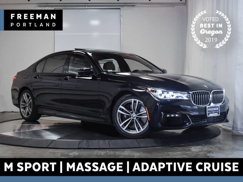 2016 BMW 750i M Sport 15k Miles Adaptive Cruise Automatic Parking Portland OR