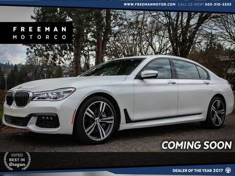 2016_BMW_750i_xDrive M Sport Active Cruise Surround View Cam_ Portland OR