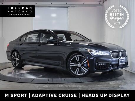 2016_BMW_750i_xDrive M Sport Adaptive Cruise Blind Spot Assist_ Portland OR