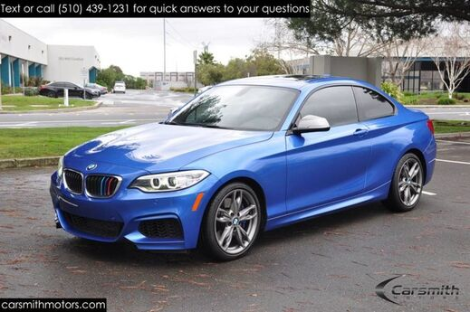 2016 BMW M235 with Technology and Drivers Assistance MSRP $51,420/One Owner/ Harmon Kardon Fremont CA
