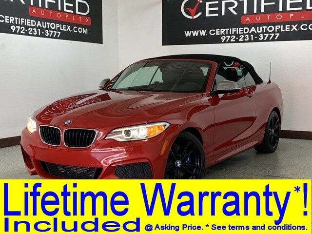 2016 BMW M235i CONVERTIBLE NAVIGATION REAR CAMERA PARK ASSIST HEATED LEATHER SEATS BLUETOO