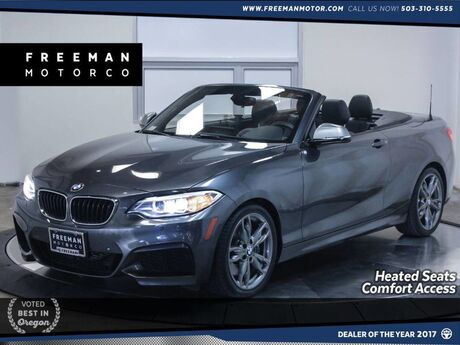 2016 BMW M235i Convertible Nav Heated Seats Back-Up Cam 16k Miles Portland OR