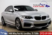2016 BMW M235i Coupe SUNROOF LEATHER COMFORT ACCESS WITH KEYLESS START BLUETOOTH PADDLE SHIFTERS