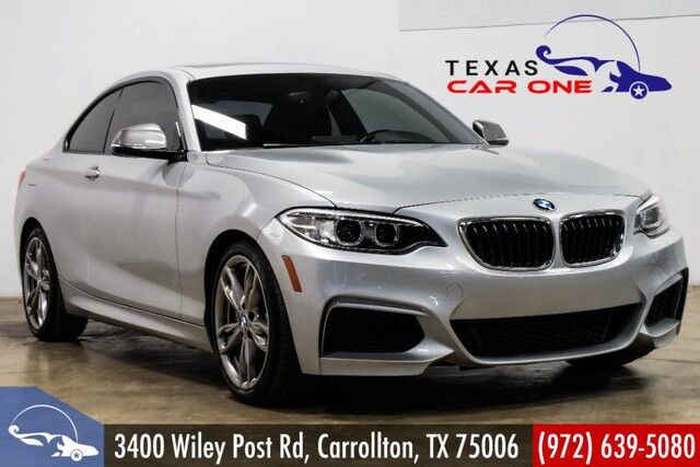 2016 Bmw M235i Coupe Sunroof Leather Comfort Access With Keyless Start Bluetooth Paddle Shifters Carrollton Tx