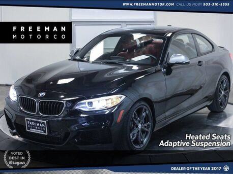 2016_BMW_M235i_Navigation Heated Seats Adaptive Suspension_ Portland OR