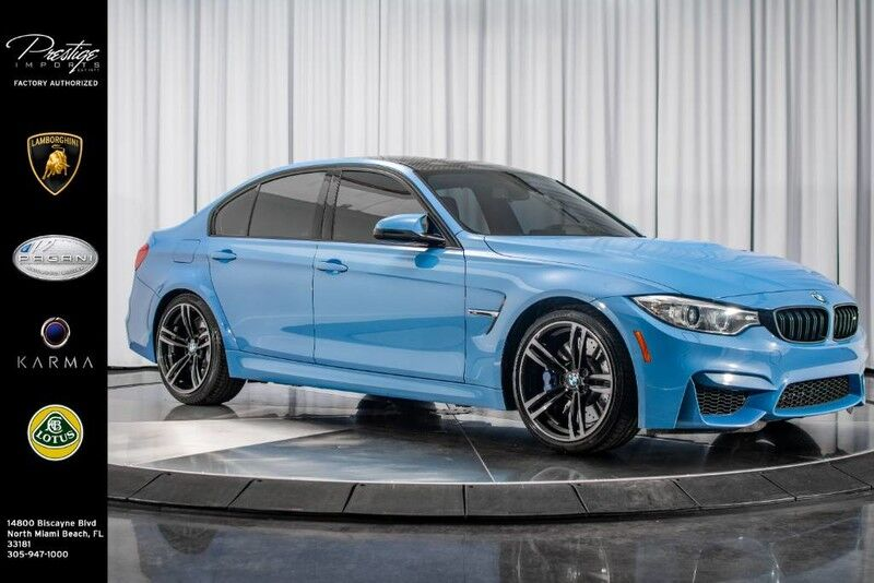2016_BMW_M3__ North Miami Beach FL