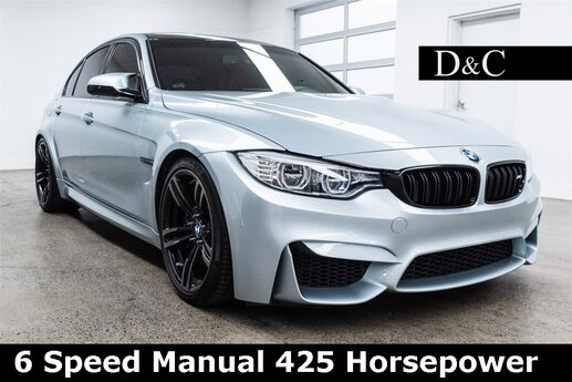 2016 BMW M3 6 Speed Manual 425 Horsepower Portland OR