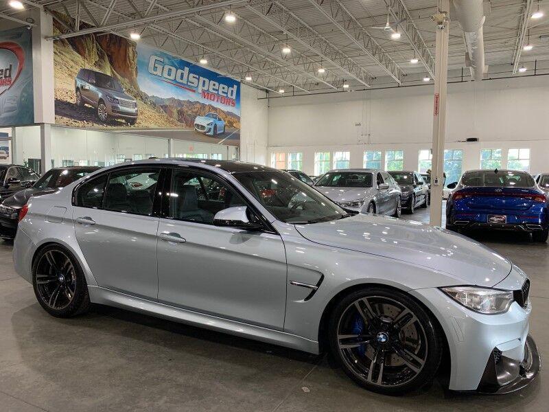 2016_BMW_M3_6 Speed Manual 67K MSRP_ Charlotte NC