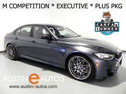 2016_BMW_M3_*COMPETITION PKG, EXECUTIVE PKG, DRIVER ASSISTANCE PLUS, LIGHTING PKG, HEADS-UP DISPLAY, BLIND SPOT ALERT, HARMAN/KARDON, MERINO LEATHER_ Round Rock TX