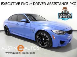 2016_BMW_M3_*EXECUTIVE PKG, DRIVER ASSISTANCE PLUS, LIGHTING PKG, FULL MERINO LEATHER, HEADS-UP DISPLAY, SAFETY ALERTS, ADAPTIVE M SUSPENSION, HARMAN/KARDON_ Round Rock TX