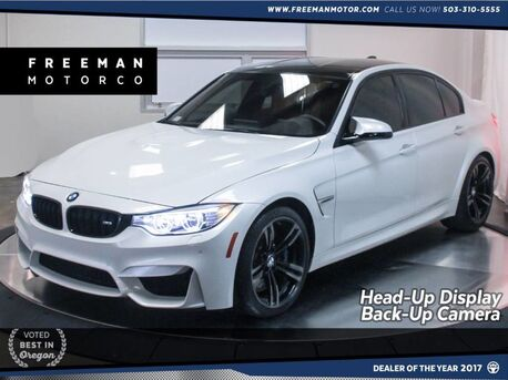 2016_BMW_M3_Head-Up Display Back-Up Cam Heated Steering Wheel_ Portland OR