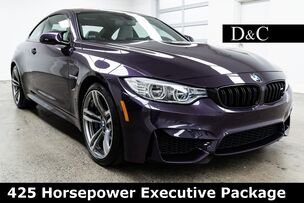 2016 BMW M4 425 Horsepower Executive Package