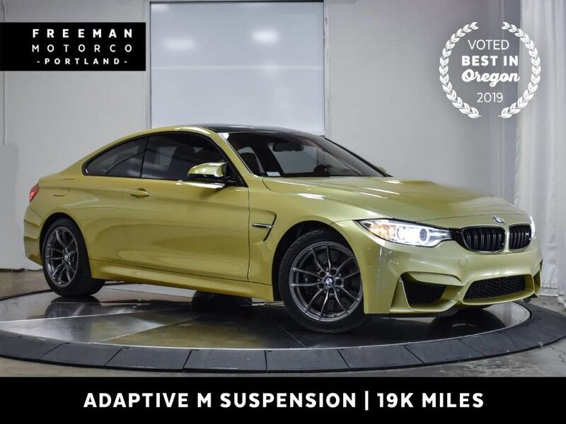 2016 BMW M4 6 Speed Manual Adaptive M Suspension Nav 19k Miles Portland OR