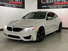 2016_BMW_M4_COUPE DRIVE ASSIST PLUS PKG EXECUTIVE PKG LIGHT PKG NAVIGATION HEADSUP DISP_ Carrollton TX