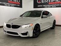 BMW M4 COUPE DRIVE ASSIST PLUS PKG EXECUTIVE PKG LIGHT PKG NAVIGATION R 2016