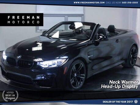 2016_BMW_M4_Convertible Head-Up Display Neck Warmer Nav_ Portland OR