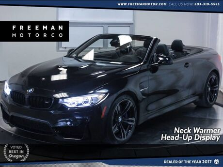2016 BMW M4 Convertible Head-Up Display Neck Warmer Nav Portland OR