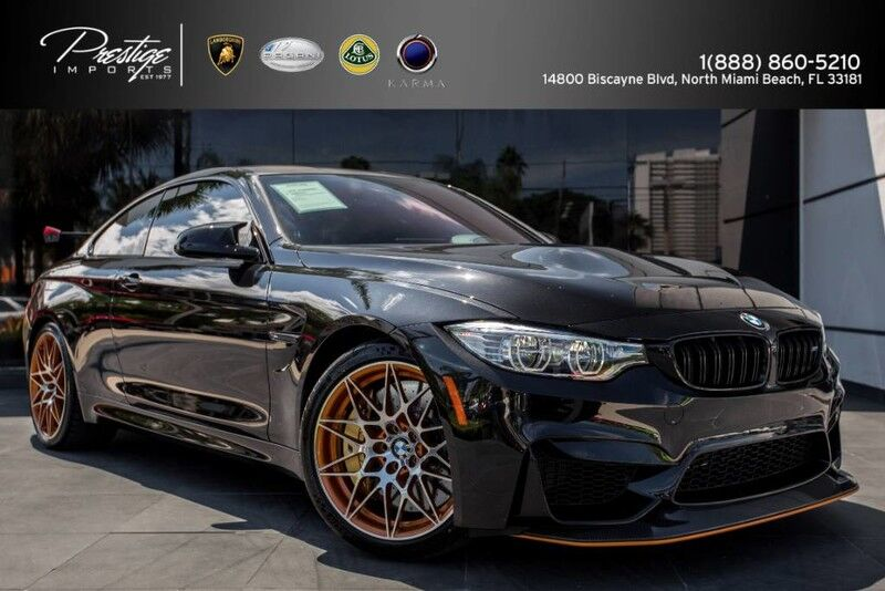 2016_BMW_M4_GTS_ North Miami Beach FL