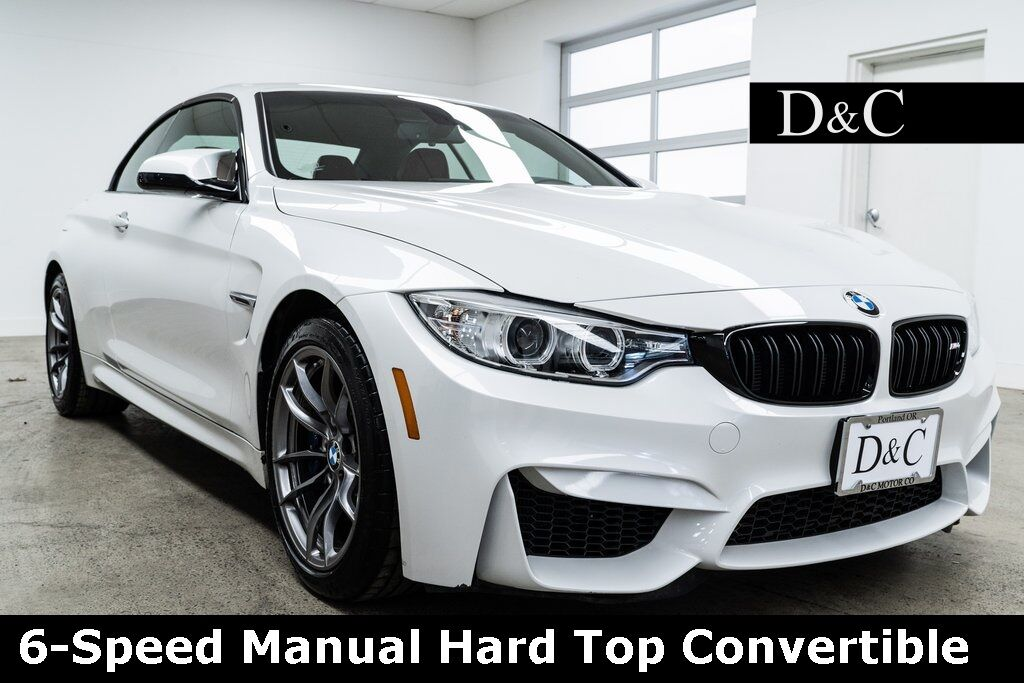 2016 BMW M4 Hard Top Convertible 425 Horsepower Portland OR