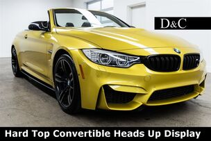 2016 BMW M4 Hard Top Convertible Heads Up Display