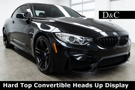 2016 BMW M4 Hard Top Convertible Heads Up Display Portland OR