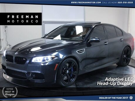 2016 BMW M5 Climate Seats Head-Up Display Adaptive LEDs Portland OR