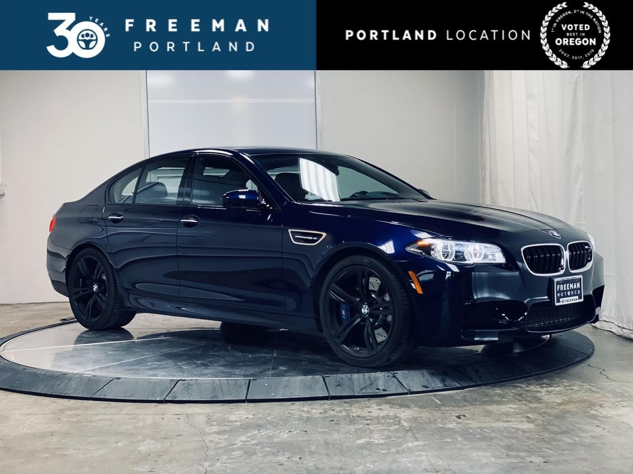 2016 BMW M5 Driving Assistant Plus Executive Pkg 550HP Portland OR
