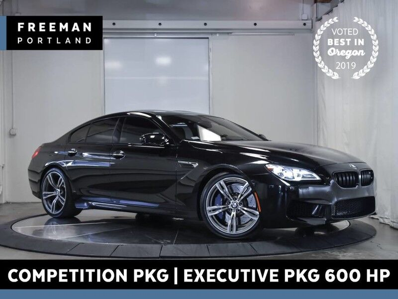 2016 BMW M6 Gran Coupe Competition & Executive Pkg 600 HP Portland OR