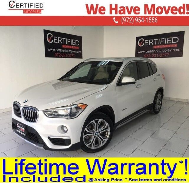 2016 BMW X1 XDRIVE28i TECHNOLOGY PKG NAVIGATION PANORAMIC ROOF REAR CAMERA PARK ASSIST Dallas TX