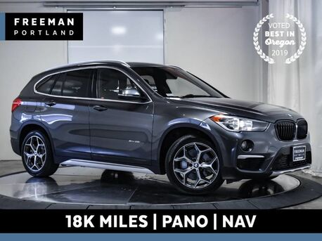 2016_BMW_X1_xDrive28i AWD 18k Mi Nav Pano Back-Up Camera_ Portland OR