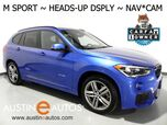 2016 BMW X1 xDrive28i AWD *M SPORT, NAVIGATION, HEADS-UP DISPLAY, BACKUP-CAMERA, PANORAMA MOONROOF, DRIVING ASSISTANT, COMFORT ACCESS, HEATED SEATS/STEERING WHEEL