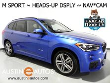 BMW X1 xDrive28i AWD *M SPORT, NAVIGATION, HEADS-UP DISPLAY, BACKUP-CAMERA, PANORAMA MOONROOF, DRIVING ASSISTANT, COMFORT ACCESS, HEATED SEATS/STEERING WHEEL 2016
