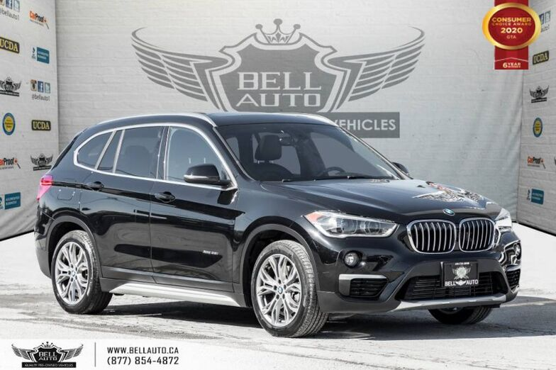 2016 BMW X1 xDrive28i, AWD, NAVI, REAR CAM, SENSORS, PANO ROOF Toronto ON