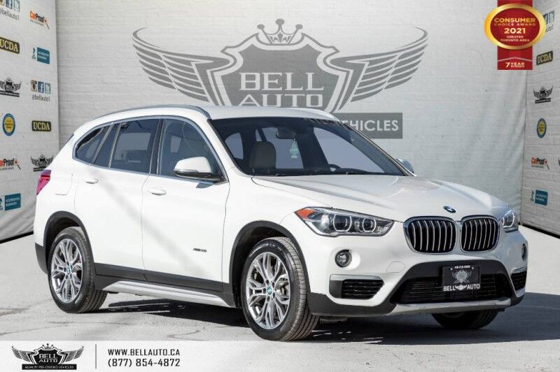 2016 BMW X1 xDrive28i, AWD, NO ACCIDENTS, REAR CAM, SENSORS, PARK ASST Toronto ON