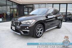 2016_BMW_X1_xDrive28i / AWD / Premium Pkg / Luxury Pkg / Power & Heated Leather Seats / Heated Steering Wheel / Navigation / Panoramic Sunroof / Bluetooth / Back Up Camera / Keyless Entry & Start / 32 MPG_ Anchorage AK