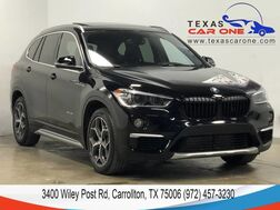 2016_BMW_X1 xDrive28i_AWD X LINE DRIVER ASSIST PKG PREMIUM PKG PANORAMA LEATHER SEATS_ Carrollton TX