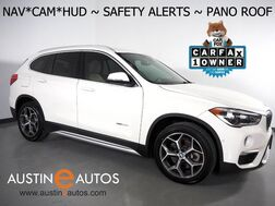 2016_BMW_X1 xDrive28i AWD_*XLINE, HEADS-UP DISPLAY, DRIVING ASSISTANT, LANE DEPARTURE ALERT, NAVIGATION, BACKUP-CAMERA, PANORAMA MOONROOF, LEATHER, HEATED SEATS/STEERING WHEEL, COMFORT ACCESS, BLUETOOTH_ Round Rock TX