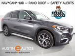 2016 BMW X1 xDrive28i AWD *XLINE, HEADS-UP DISPLAY, DRIVING ASSISTANT, LANE DEPARTURE ALERT, NAVIGATION, BACKUP-CAMERA, PANORAMA MOONROOF, LEATHER, HEATED SEATS/STEERING WHEEL, COMFORT ACCESS, BLUETOOTH