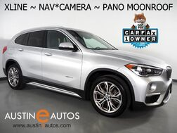 2016_BMW_X1 xDrive28i AWD_*XLINE, NAVIGATION, BACKUP-CAMERA, PANORAMA MOONROOF, DAKOTA LEATHER, HEATED SEATS/STEERING WHEEL, COMFORT ACCESS, BLUETOOTH PHONE & AUDIO_ Round Rock TX