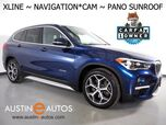 2016 BMW X1 xDrive28i AWD *XLINE, NAVIGATION, BACKUP-CAMERA, PANORAMA MOONROOF, HEATED SEATS & STEERING WHEEL, POWER LIFTGATE, COMFORT ACCESS, BLUETOOTH PHONE & AUDIO