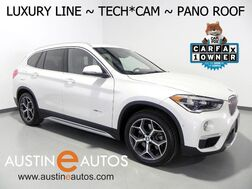 2016_BMW_X1 xDrive28i_*LUXURY LINE, HEADS-UP DISPLAY, NAVIGATION, DRIVING ASSISTANT, BACKUP-CAM, PANORAMA MOONROOF, HARMAN/KARDON, LEATHER, BLUETOOTH PHONE & AUDIO_ Round Rock TX