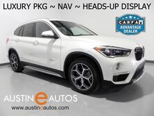 BMW X1 xDrive28i *LUXURY PKG, NAVIGATION, HEADS-UP DISPLAY, PANORAMA MOONROOF, LEATHER, HEATED SEATS/STEERING WHEEL, COMFORT ACCESS, BLUETOOTH 2016
