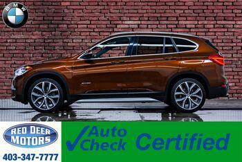 2016_BMW_X1_xDrive28i Leather Roof Nav BCam_ Red Deer AB