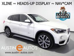 2016_BMW_X1 xDrive28i_*XLINE, HEADS-UP DISPLAY, NAVIGATION, BACKUP-CAMERA, PANORAMA MOONROOF, HARMAN/KARDON, 19 INCH WHEELS, BLUETOOTH_ Round Rock TX