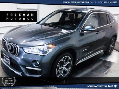 2016_BMW_X1_xDrive28i xLine Htd Seats Back-Up Cam Nav 6k Miles!_ Portland OR