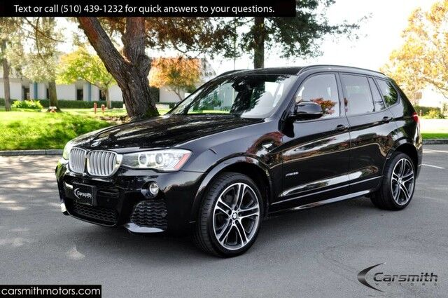 2016 BMW X3 M Sport Fully Loaded! Drivers Assistance Plus MSRP $60,095 Technology/Premium/20 Wheels/Heated Seats Fremont CA