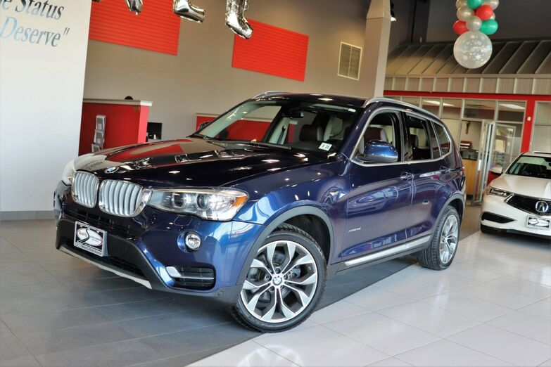 2016 BMW X3 Technology Premium Lighting Cold Weather X Line Package Navigation System xDrive28i Springfield NJ