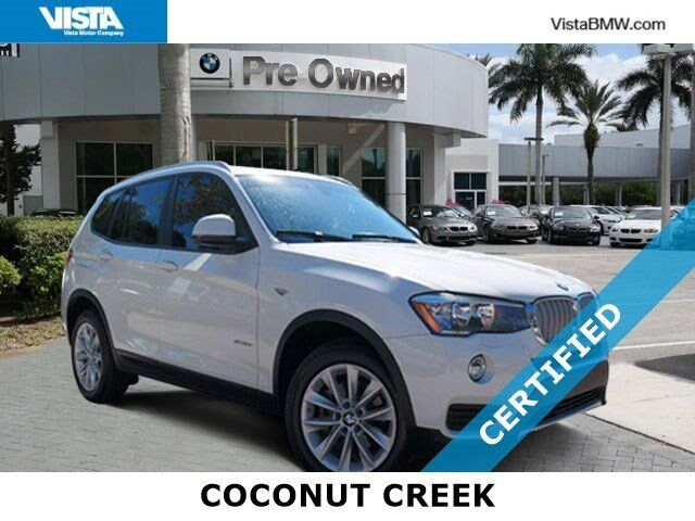 2016 BMW X3 sDrive28i Coconut Creek FL